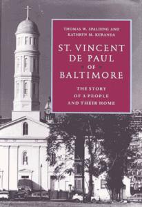 St Vincent de Paul of Baltimore Book