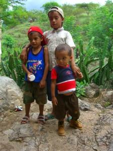 San Juan de Limay - three boys